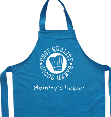 customize your apron!